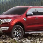 New 2022 Ford Endeavour Exterior