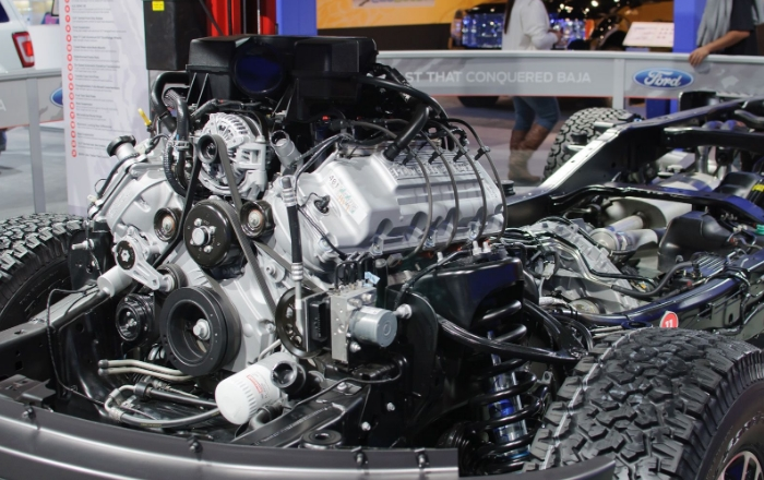 New 2022 Ford Everest Engine