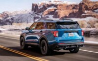 New 2022 Ford Explorer Exterior
