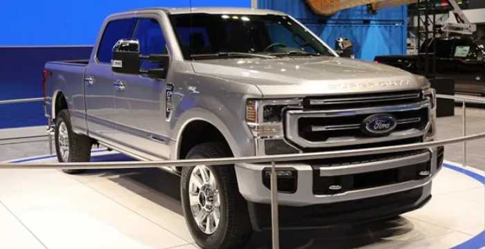 New 2022 Ford F350 Exterior