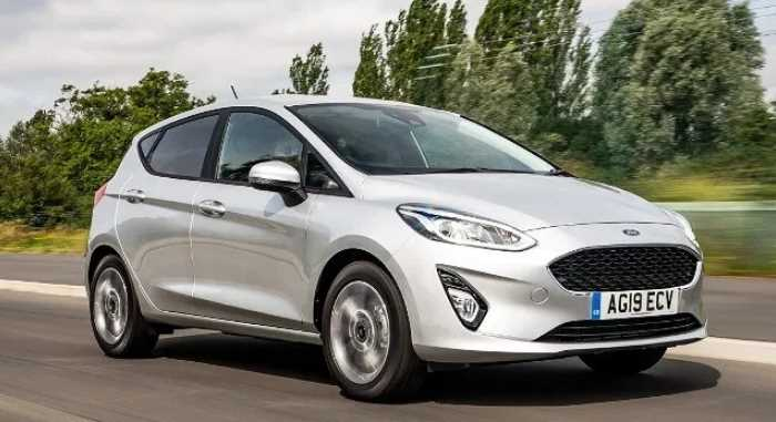New 2022 Ford Fiesta Exterior