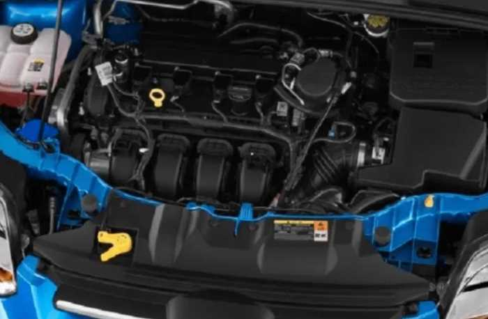 New 2022 Ford Focus Engine