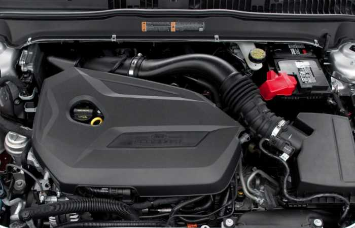 New 2022 Ford Fusion Engine