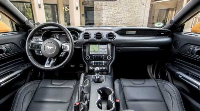 New 2022 Ford Mustang Interior