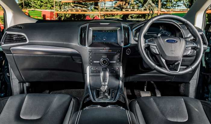 New 2022 Ford Edge Titanium Interior
