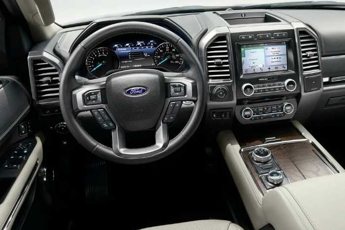 New 2022 Ford Expedition XLT Interior