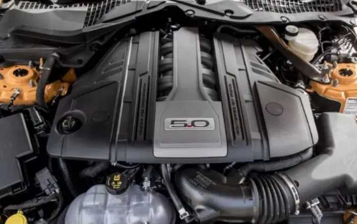2022 Ford Mustang GT Convertible Engine