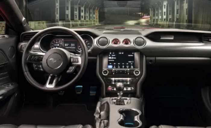2022 Ford Mustang GT Convertible Interior